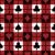 negro · rojo · tejido · póquer · mesa - foto stock © lisann