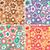 70s · patroon · gedetailleerd · illustratie · abstract · kleurrijk - stockfoto © lisann