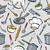 kitchen tools pattern stock photo © lisann