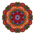 vektör · güzel · renkli · mandala - stok fotoğraf © lissantee