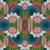 caleidoscópio · vetor · padrão · abstrato · textura · fundo - foto stock © lissantee