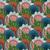 colorido · planta · padrão · tecido · textura · festa - foto stock © lissantee
