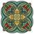 vektor · gyönyörű · színes · körvonal · tér · dizájn · elem - stock fotó © lissantee