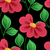 vector seamless floral pattern stock photo © lissantee