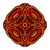 vector · mooie · gekleurd · contour · vierkante · bloem - stockfoto © lissantee