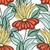бесшовный · Vintage · шаблон · цветы · вектора · текстуры - Сток-фото © lissantee
