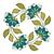 vector · gekleurd · ornament · bloemen - stockfoto © lissantee