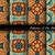 コレクション · 幾何学的な · パターン · 壁紙 - ストックフォト © lissantee