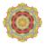 vector · mooie · gekleurd · mandala · etnische - stockfoto © lissantee
