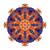 vector · mooie · gekleurd · contour · mandala - stockfoto © lissantee
