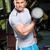 筋肉の · 男 · ジム · 魅力的な · ビッグ · 筋肉 - ストックフォト © lithian