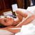 profundo · dormir · foto · belo · mulher · grávida · adormecido - foto stock © lithian