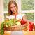 счастливым · корзины · полный · здоровое · питание - Сток-фото © lithian