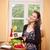 здоровья · продовольствие · великолепный · молодые · брюнетка · женщину - Сток-фото © lithian
