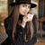 magnifico · bruna · coffee · shop · primo · piano · ritratto · donna - foto d'archivio © lithian