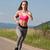 groot · training · jonge · brunette · vrouw · lopen - stockfoto © lithian