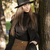 美しい · ファッション · モデル · 短い · 革 · スカート - ストックフォト © lithian