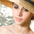 nyári · szabadság · érzés · portré · gyönyörű · fiatal · barna · hajú - stock fotó © lithian