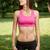 hermosa · esbelto · jóvenes · fitness · nina · retrato - foto stock © lithian