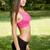 jóvenes · morena · fitness · nina · retrato · primavera - foto stock © lithian