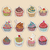 cupcake colorful icon stock photo © littlecuckoo