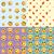 meglepődött · emotikon · minta · vektor · internet · kommunikáció - stock fotó © littlecuckoo