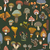 cute · funghi · vettore · texture · natura - foto d'archivio © littlecuckoo