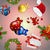 Новый · год · шаблон · Hat · подарок · рождественская · елка - Сток-фото © littlecuckoo