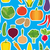 vegetable seamless pattern the image of vegetables stock photo © littlecuckoo