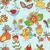 belo · abstrato · flores · aves · ilustração · projeto - foto stock © littlecuckoo
