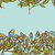 azul · aumentó · hoja · verde · vector · hojas · verdes - foto stock © littlecuckoo