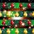 naadloos · kerst · patroon · kerstmis · bal · speelgoed · sneeuwvlokken - stockfoto © littlecuckoo