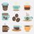 集 · 杯 · 熱 · 飲料 · 咖啡 - 商業照片 © littlecuckoo