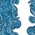 синий · волновая · картина · бесшовный · волнистый · простой · текстуры - Сток-фото © littlecuckoo