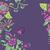 floral · bouquet · cadre · tourbillon · frontière · fleurs - photo stock © littlecuckoo