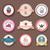 ayarlamak · fırın · etiketler · simgeler · rozetler · dizayn - stok fotoğraf © littlecuckoo