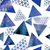 retro pattern of geometric shapes triangles stock photo © littlecuckoo