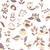 flores · aves · sem · costura · textura · padrão · flor - foto stock © LittleCuckoo