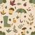 autumn pattern seamless texture with autumn objects stock photo © littlecuckoo