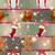 alegre · Navidad · año · nuevo · vacaciones · brillo · copo · de · nieve - foto stock © littlecuckoo