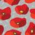 absztrakt · piros · pipacs · végtelen · minta · terv · művészet - stock fotó © littlecuckoo