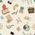 school · doodle · naadloos · terug · naar · school · kleurrijk - stockfoto © littlecuckoo