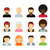 People icons. stock photo © logoff
