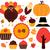 Törökország · hálaadás · hagyományos · edény · ikon · vektor - stock fotó © lordalea