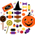 halloween cute sweet candy collection isolated on white stock photo © lordalea