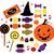 halloween · komische · communie · illustratie · boek · kat - stockfoto © lordalea