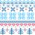beautiful seamless norway pattern stock photo © lordalea