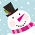 Рождества · снеговик · розовый · Cute · природы · вектора - Сток-фото © lordalea