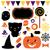 halloween party set isolated on white stock photo © lordalea