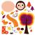vetor · desenho · animado · imagem · bonitinho · marrom · ouriço - foto stock © lordalea